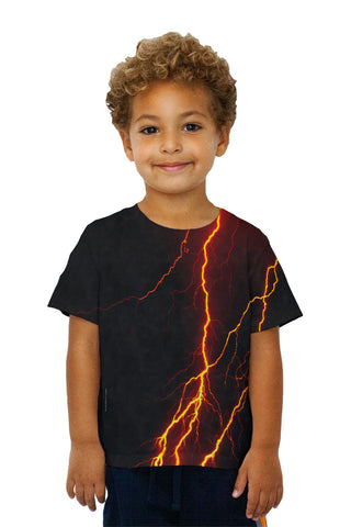 Kids Lightning Storm Orange