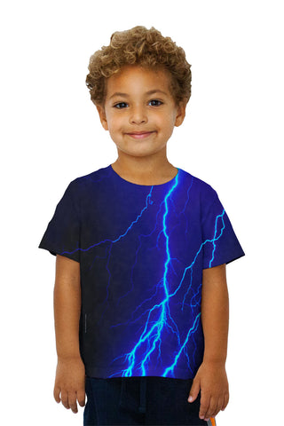 Kids Lightning Storm Blue