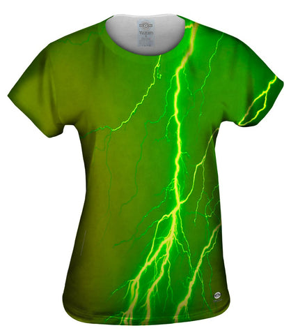 Lightning Storm Green Yellow