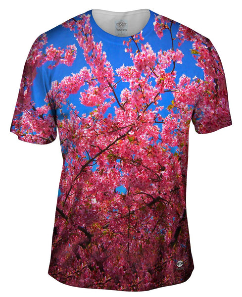Japanese Cherry Blossom Blume Mens T-Shirt