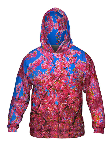 Japanese Cherry Blossom Blume Mens Hoodie Sweater