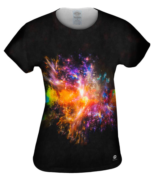 Space Burst Womens Top
