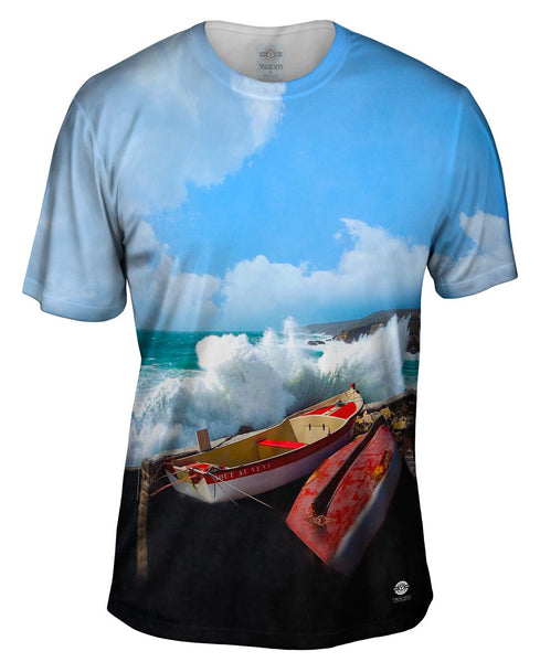 A Storm At Pors Loubous Mens T-Shirt