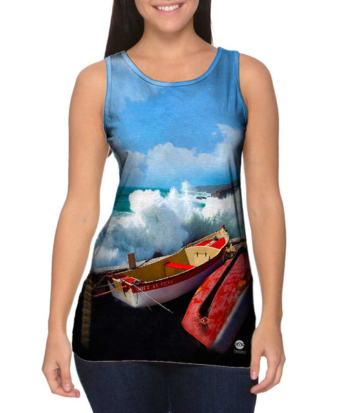 A Storm At Pors Loubous Womens Tank Top