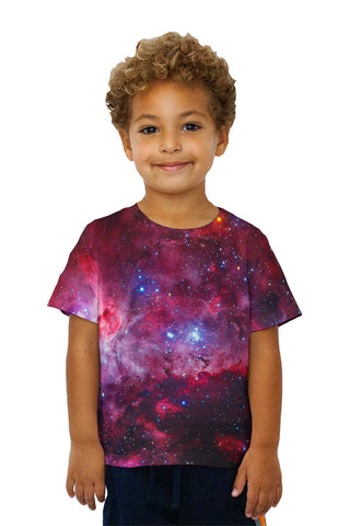 Kids Great Carina Nebula Pink Space Galaxy