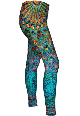 Moroccan Mosaic Tile Leggings