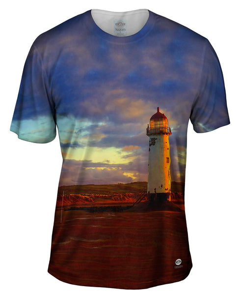 Abandoned But Not Forgotten Lighthouse Mens T-Shirt