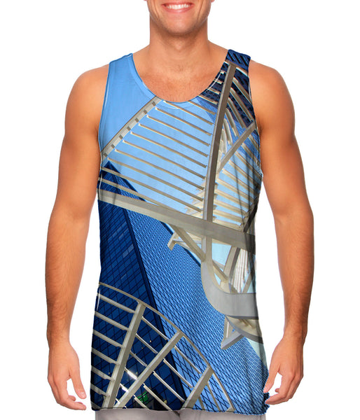 Abstract Structure Canada Mens Tank Top