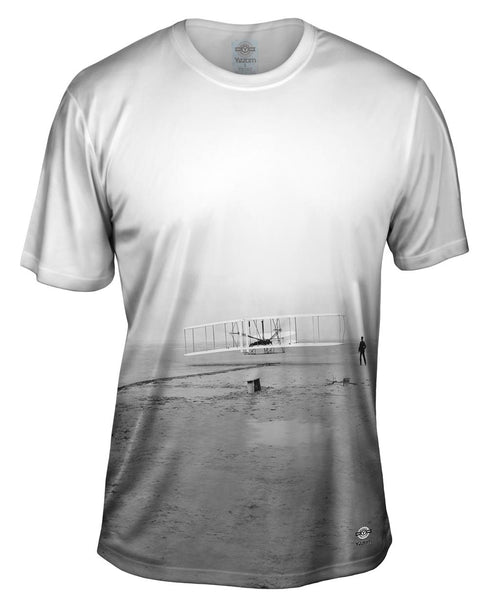 American Icons Kitty Hawk Wright Brothers Mens T-Shirt