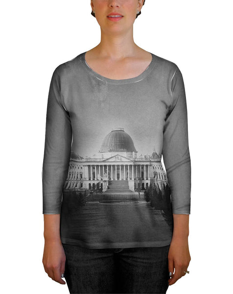Capitol Building Washington Dc Womens Tank Top