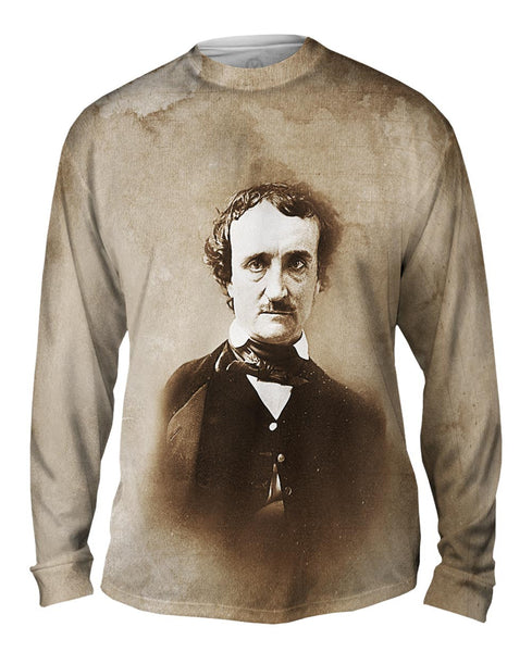 Edgar Allan Poe Mens Long Sleeve