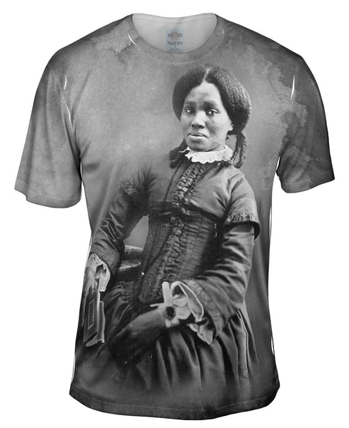 African American Woman Mens T-Shirt