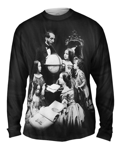 The Geography Lesson Mens Long Sleeve