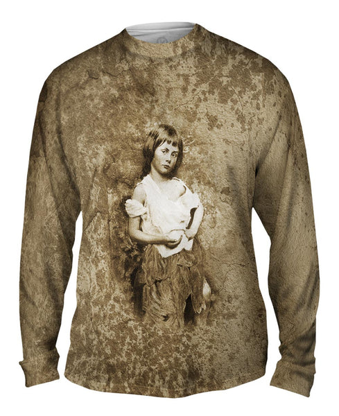 Alice Linddell As The Beggar Maid Mens Long Sleeve