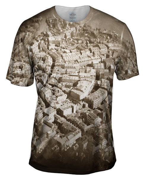 Boston From The Air Mens T-Shirt