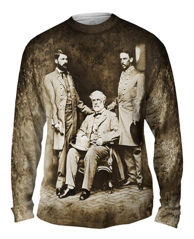 General Robert E Lee , Custis Lee & Walter Taylor