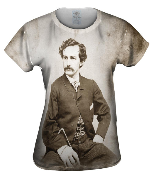John Wilkes Booth Womens Top