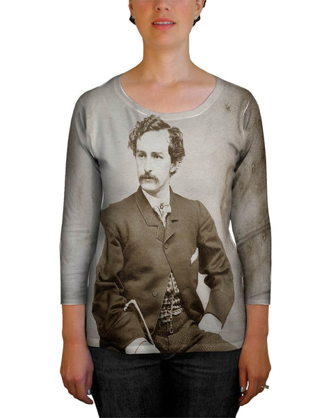 John Wilkes Booth Womens Tank Top