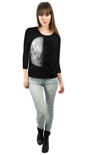 Moon Shine Womens 3/4 Sleeve