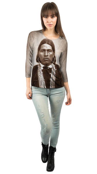 Nawquistewa Hopi Indian Oraibi Womens 3/4 Sleeve