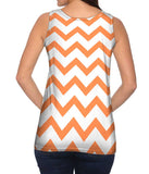 Chevron Orange Medium
