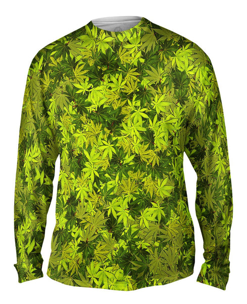 Yellow Haze Legalize It Mens Long Sleeve