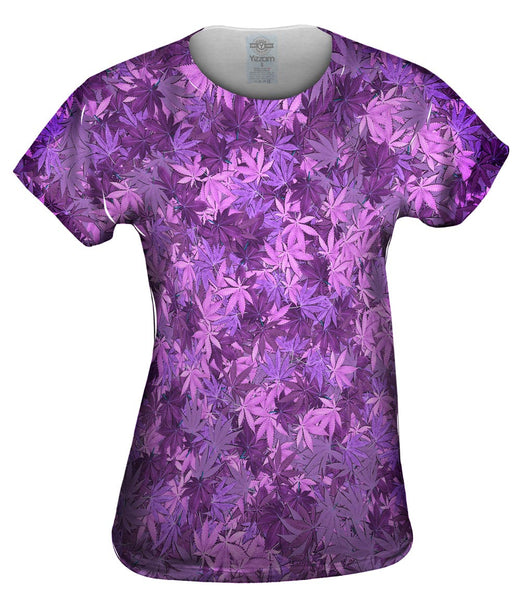 Purple Haze Legalize It Womens Top