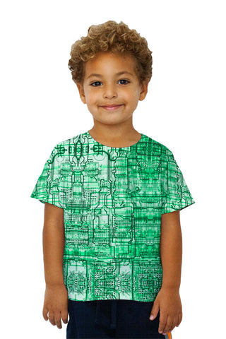 Kids Circuit Board Green