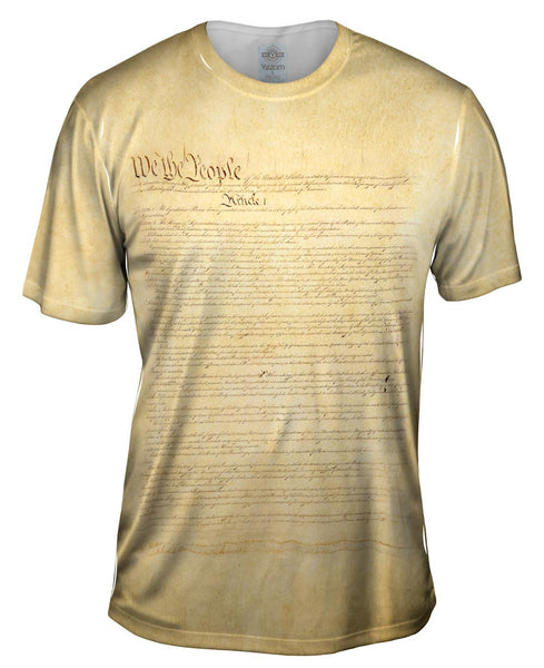 Us Constitution Mens T-Shirt