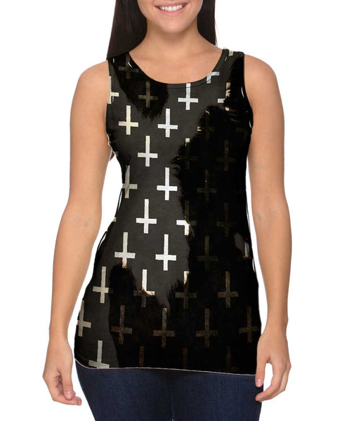 Cow Cross Of St Peter Womens Tank Top