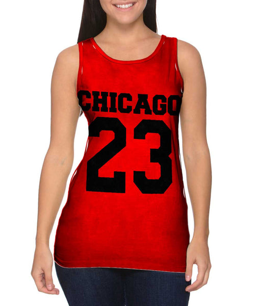 Usa Athletics Chicago 23 Womens Tank Top