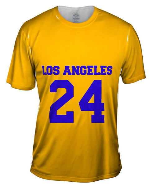 Usa Athletics Los Angeles 24 Mens T-Shirt