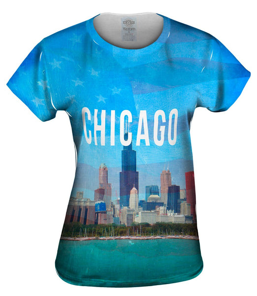 Chicago Pride Willis Tower Womens Top