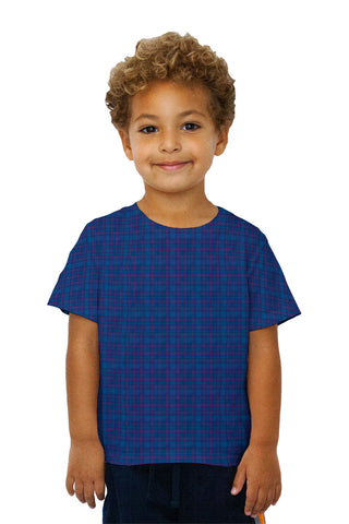 Kids Blue Flannel