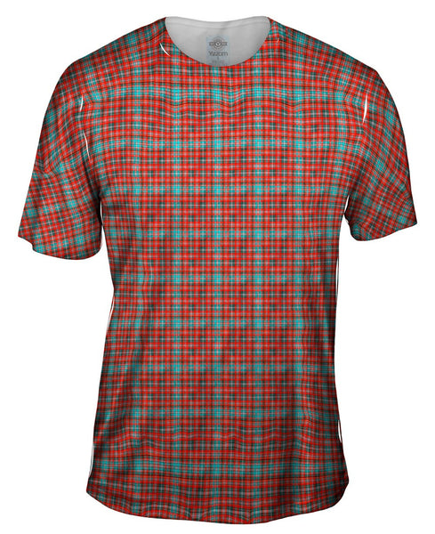 Hipster Red Flannel Mens T-Shirt