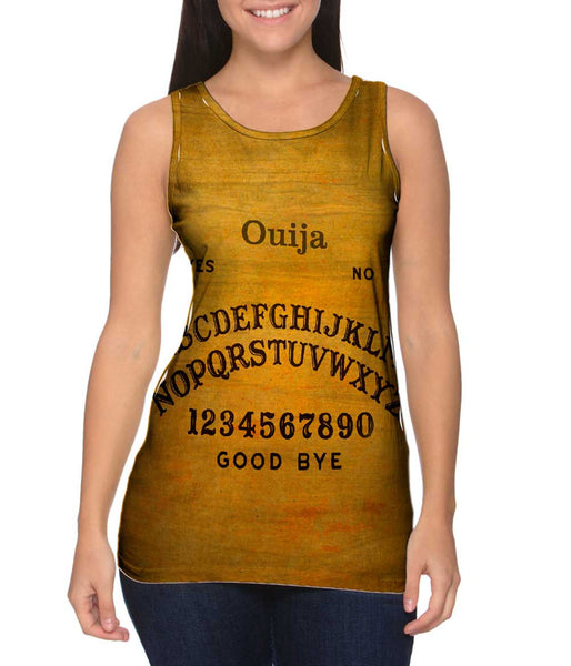 Ouija Board Womens Tank Top