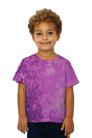 Kids Bindi Indian Pattern Purple