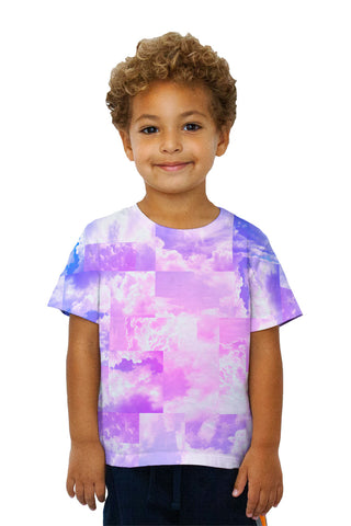 Kids Cloud Collage Blue Pink