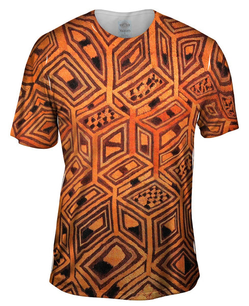 African Tribal Kuba Cloth Mens T-Shirt