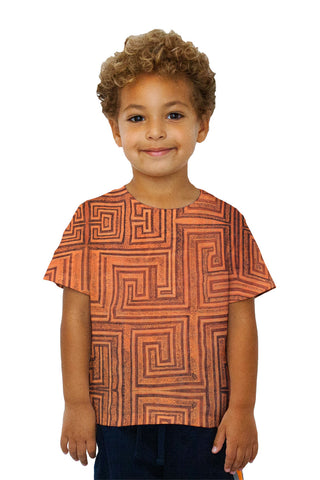 Kids African Tribal Kuba Cloth Labyrinth