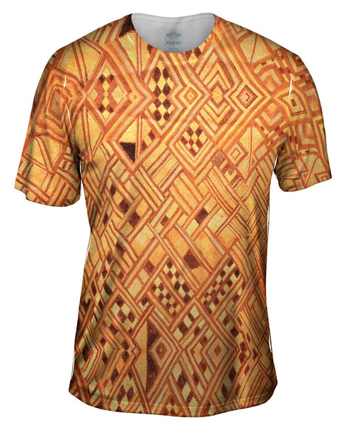 African Tribal Kuba Cloth Wedding Gift Mens T-Shirt