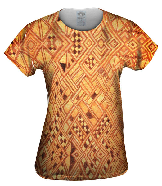 African Tribal Kuba Cloth Wedding Gift Womens Top