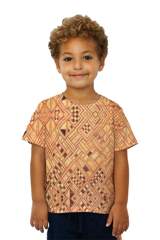 Kids African Tribal Kuba Cloth Wedding Gift