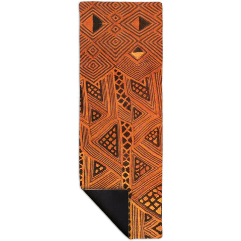 African Tribal Kuba Cloth Triangles