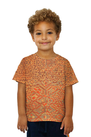 Kids African Tribal Kuba Cloth Quadrant