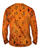 African Tribal Kuba Cloth Lattice Runway