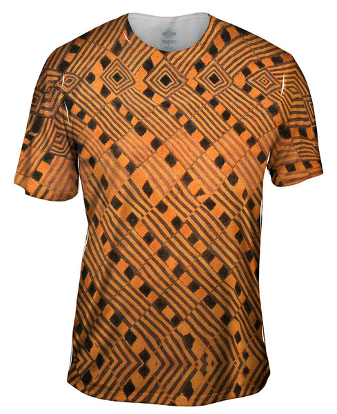 African Tribal Rain Cloth Mens T-Shirt