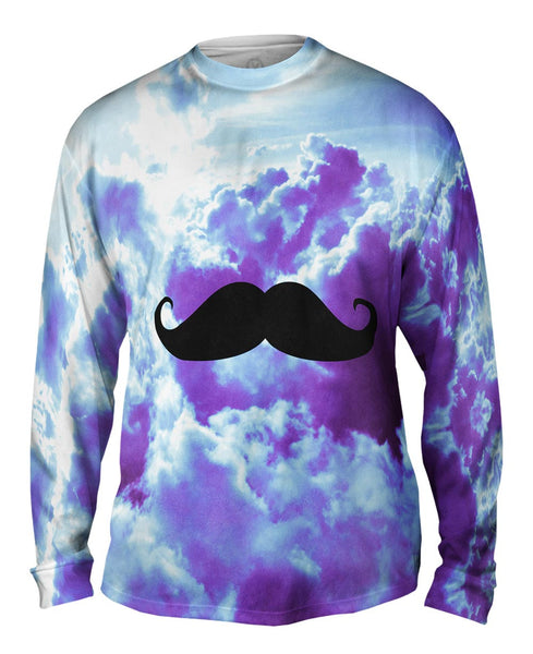 Daydreaming About Moustache Hipster Mens Long Sleeve