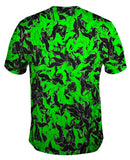 Moustache Ride Green Black