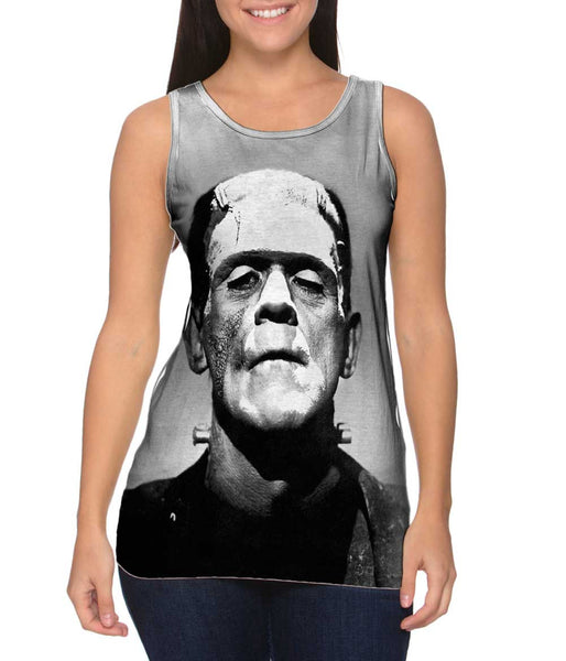 Frankensteins Monster Womens Tank Top